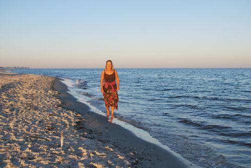 Sommerlicher Strandabend