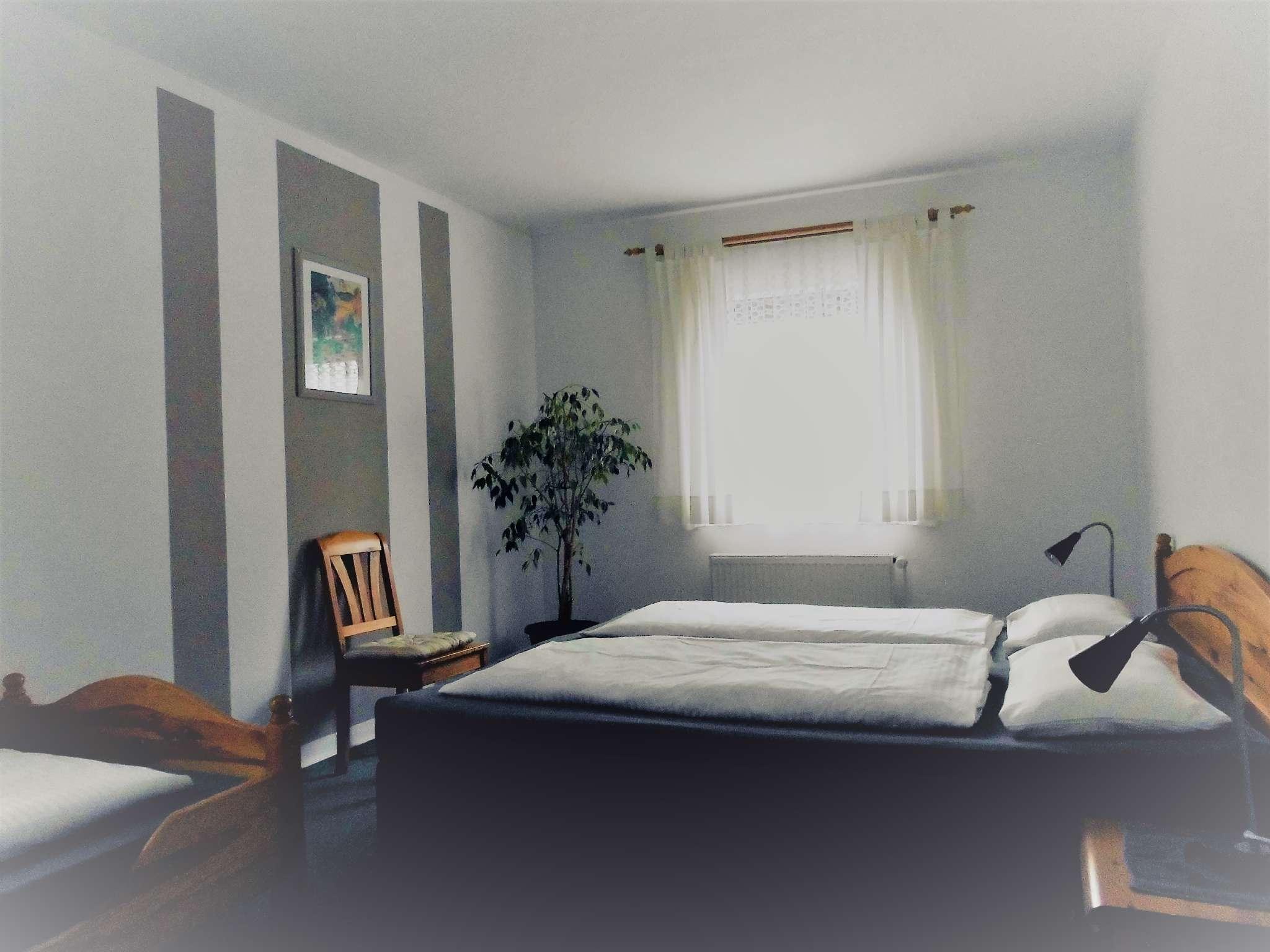 Schlafzimmer Typ D, Terrasse