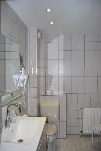 Duschbad Typ D, Terrasse