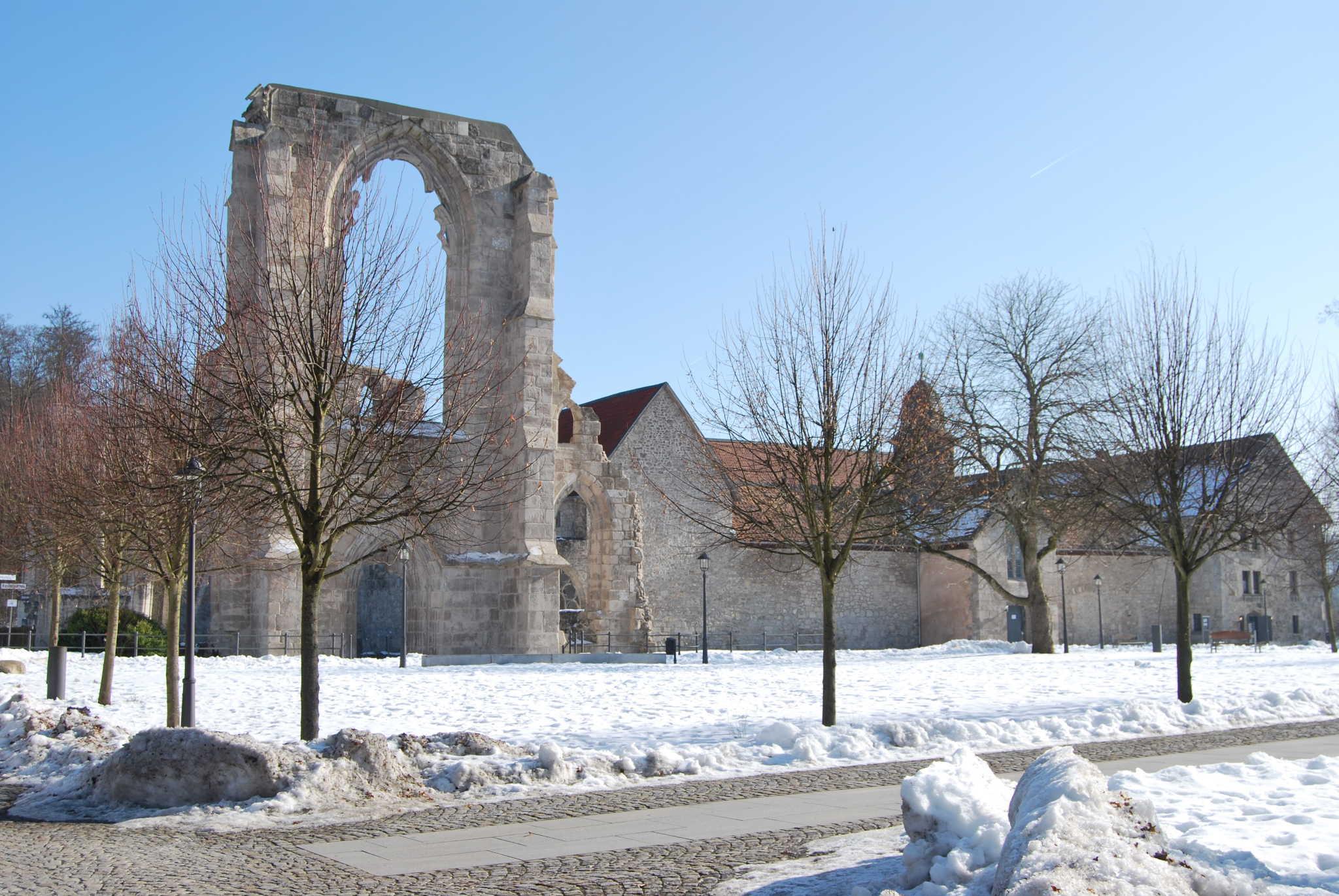 Winterimpressionen vom Klosterort