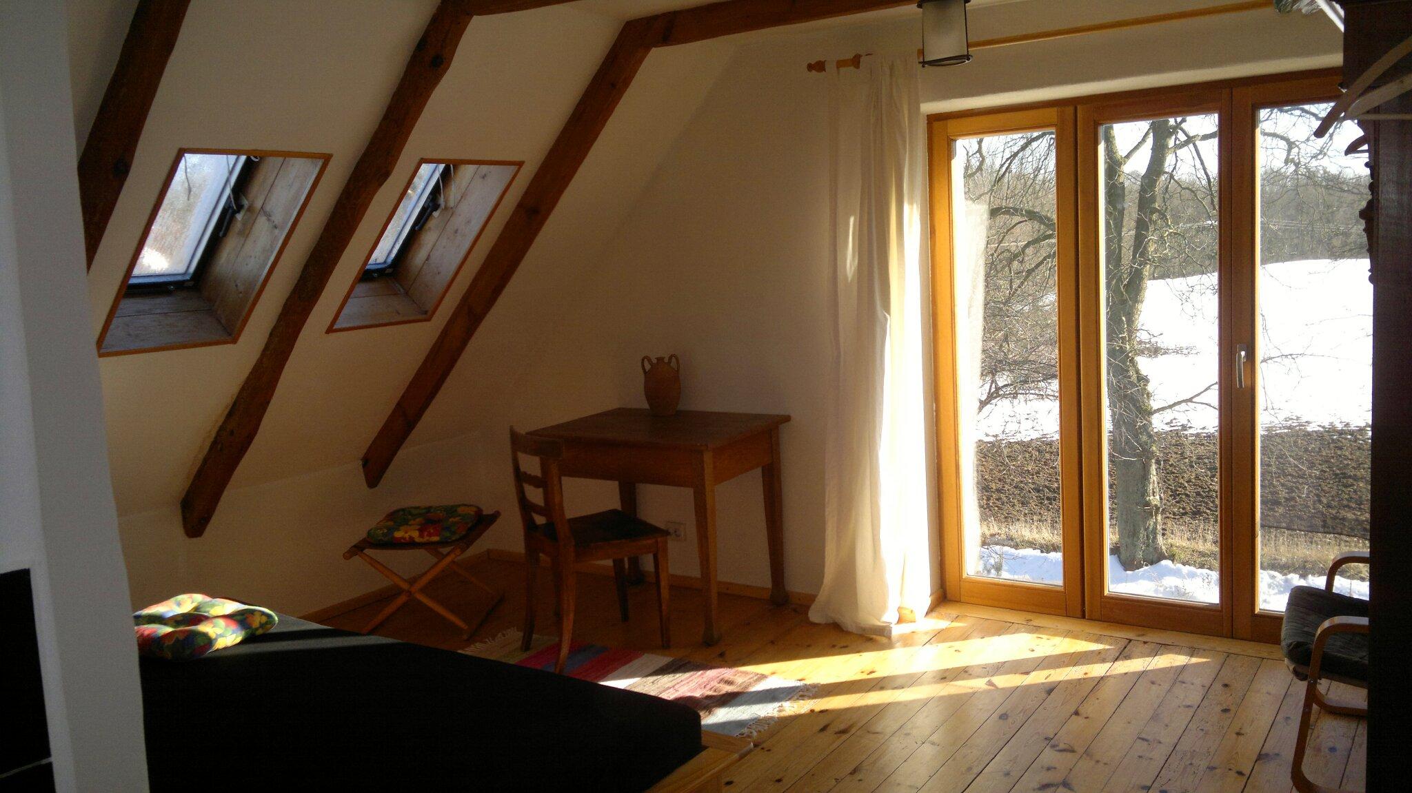 Zimmer 1.OG mit Blick nach Süden
