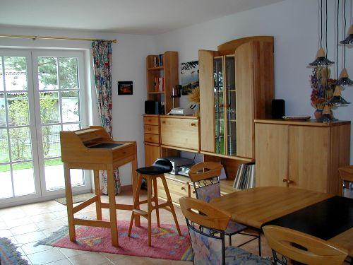 Wohnbereich mit Stehpult