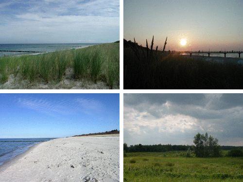 Ostsee uind Bodden - spannende Kontraste