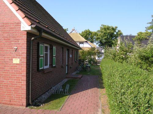 Hauseingang - Nordseite