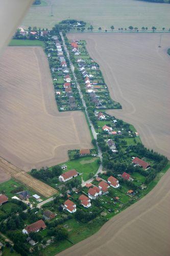 Kirchdorf - ein Stra�endorf