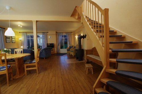 Blick in die Wohnstube Ferienhaus 115 qm