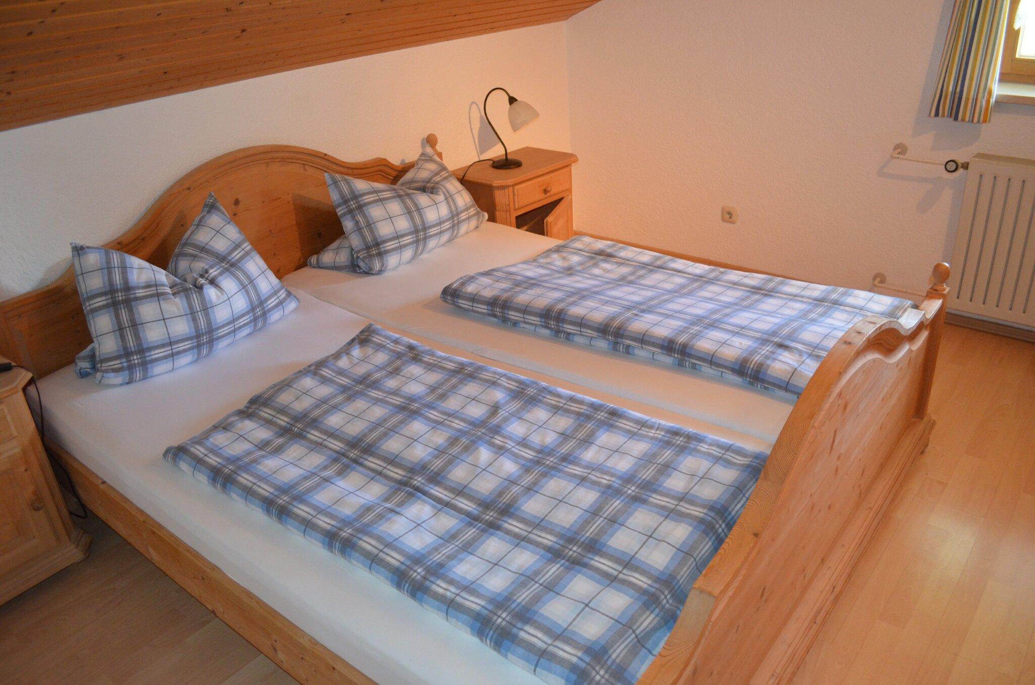 Schlafzimmer eines unser Doppelzimmer