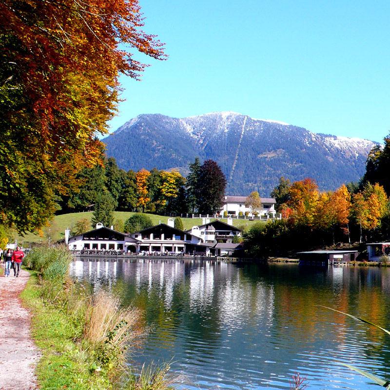 Riessersee oberhalb von Garmisch