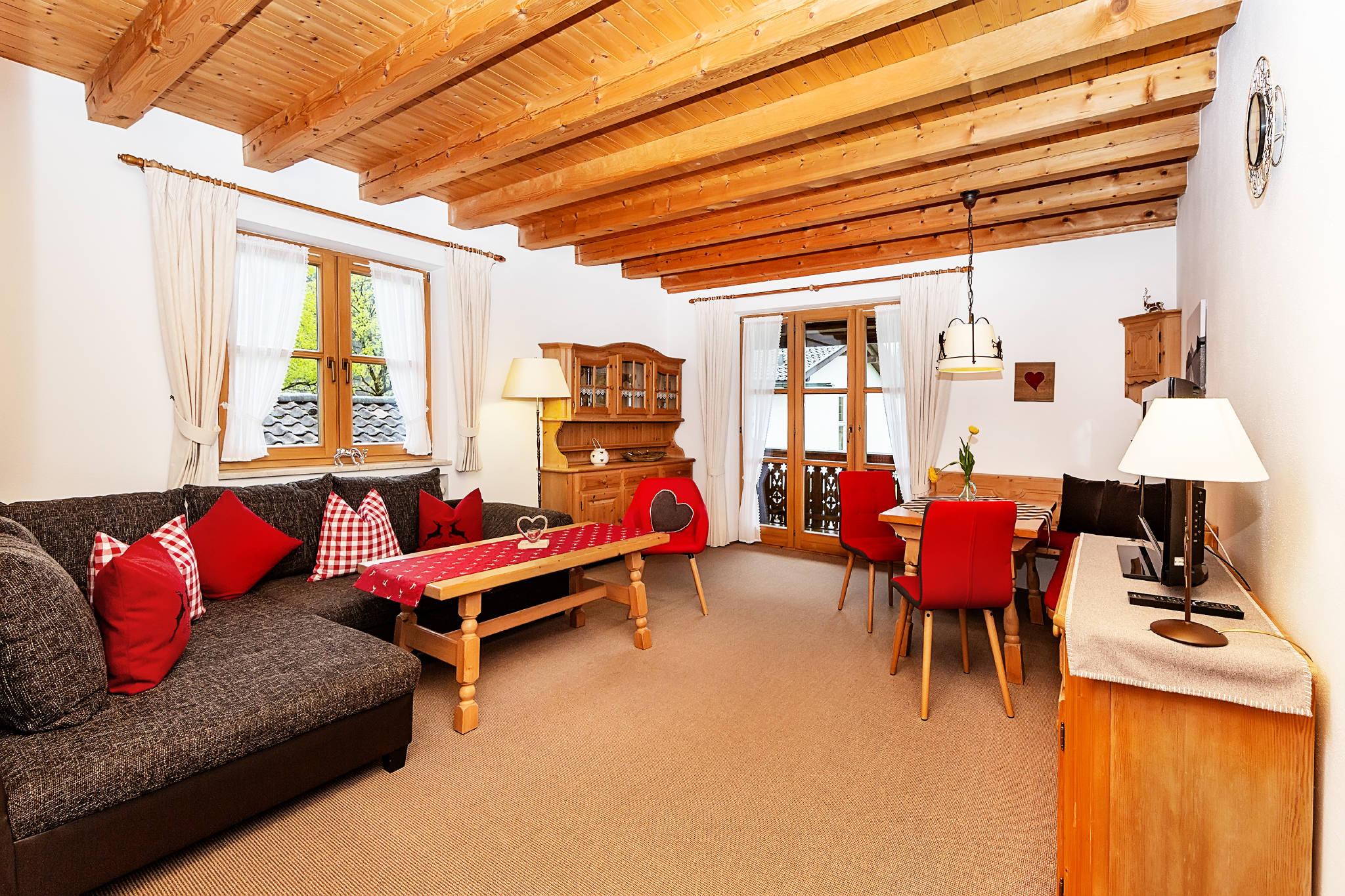 FW Alpspitze: Wohnzimmer