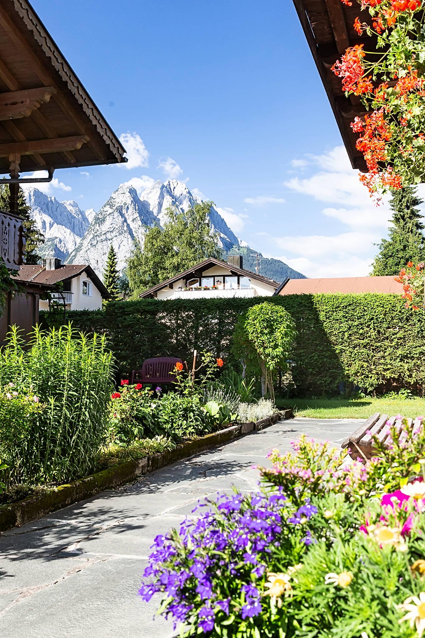 Sprungschanze in Garmisch