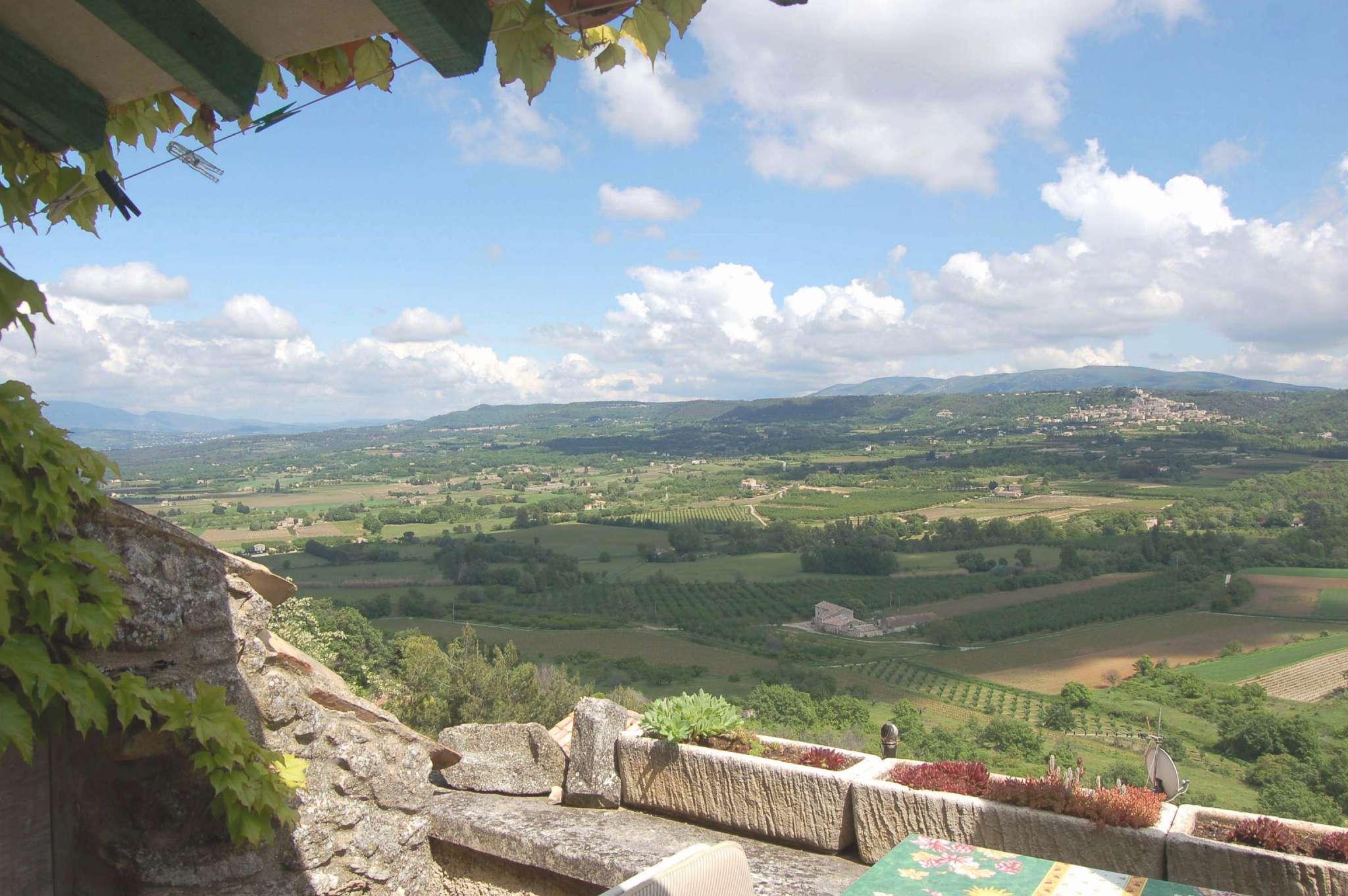 Grandiose Aussicht von der Terrasse
