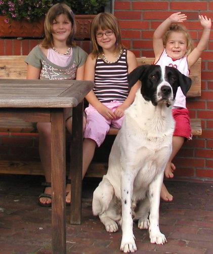Kinder und Hunde herzlich willkommen!