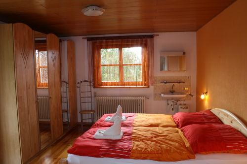 Schlafzimmer 1 OG - Doppelbett