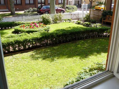 Blick in den Vorgarten