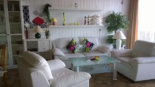 Wohnraum mit Ostseeblick
