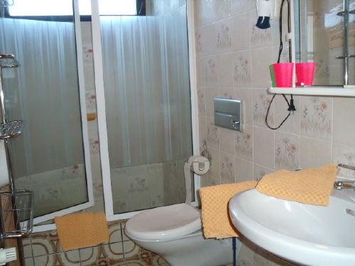 Bad m.Dusche und F�n (Glasduschkabine