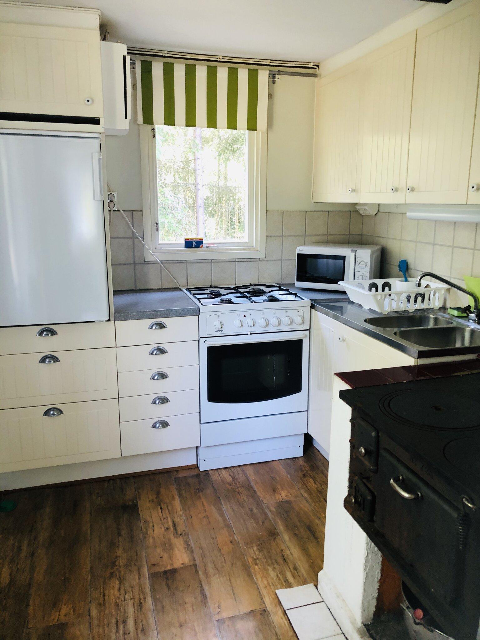 Eine moderne Küche.