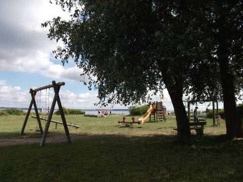 Strand-Spielplatz
