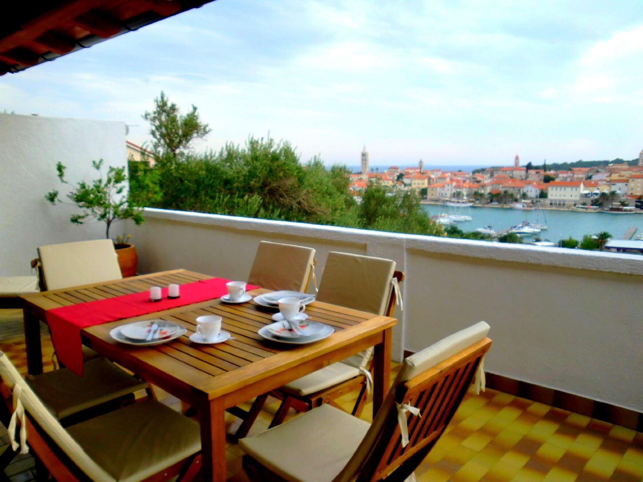 Aprt Hanni, Blick von der gro�en Terrasse