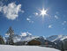 Ideale Umgebung für Schneeschuhwanderung