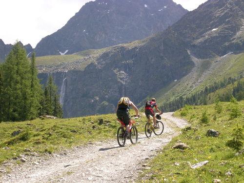 Viele Mountainbiketouren rund um Ried