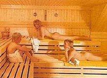Relaxen in der hauseigenen Sauna