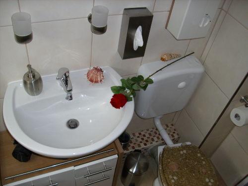 Badezimmer inklusive Föhn