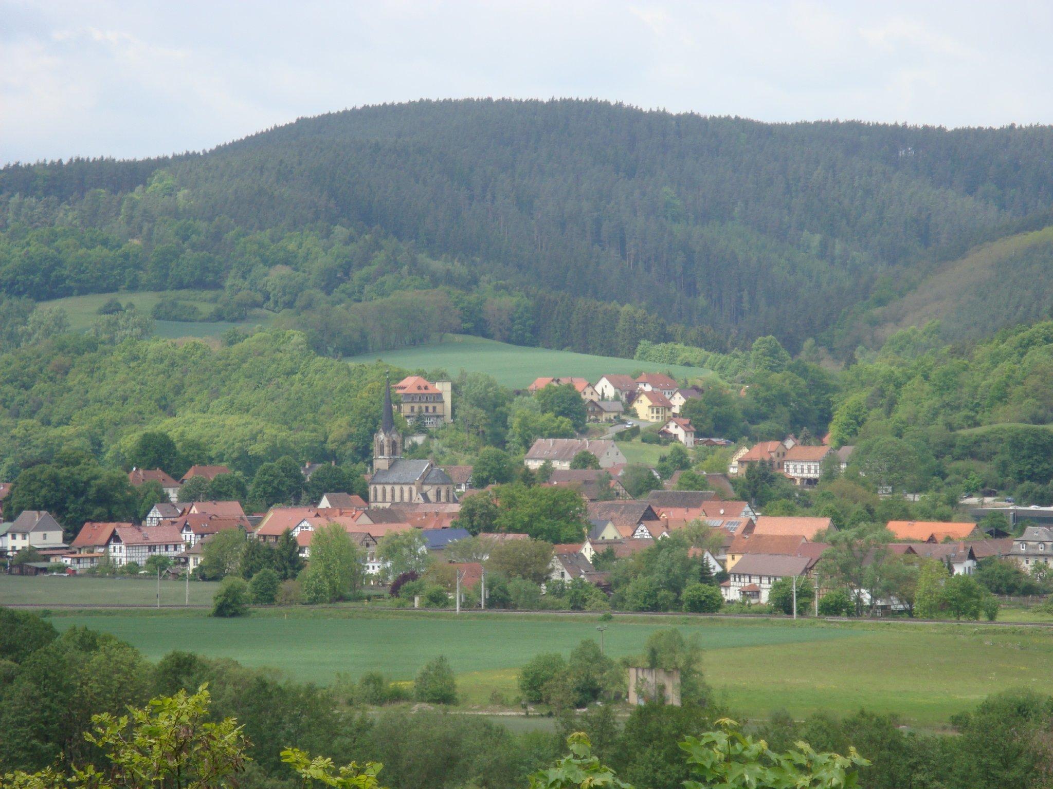 Blick auf die Heidecksburg