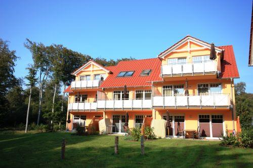 Gartenseite Ferienpark Streckelsberg