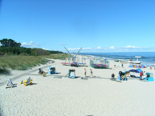 Sandstrand Koserow