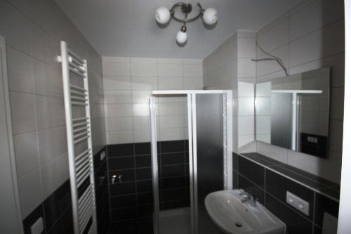 Tageslichtbad mit Handtuchhalter