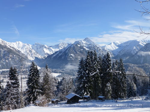 Oberstdorfer Berge im Winter
