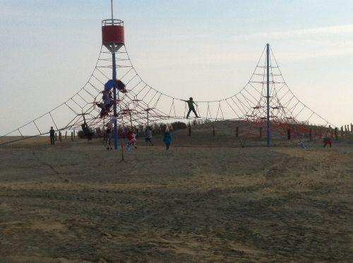 Klettern auf der Familienlagune