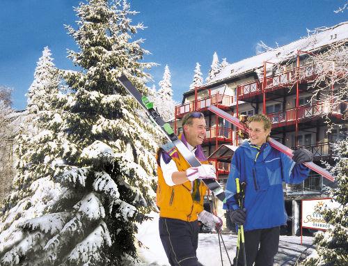 Chalet Sonnenhang Oberhof, Winteransicht
