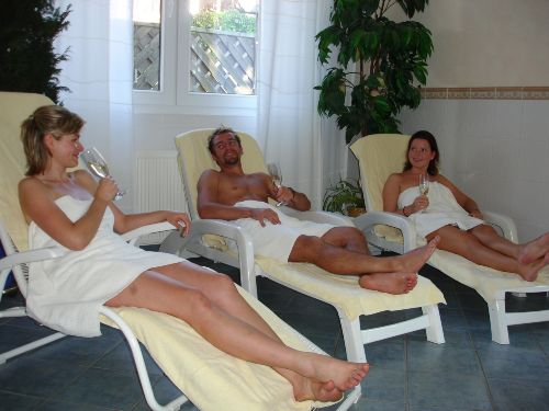 Entspannung im Ruheraum