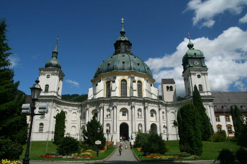 Kloster Ettal (Foto: E. de Paly)