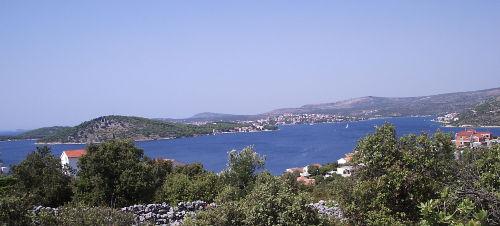 Bucht mit Blick auf Rogoznica