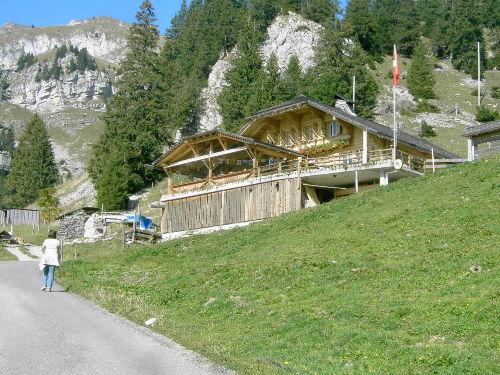 Kleiner Weinort bei Bex am Genfer See