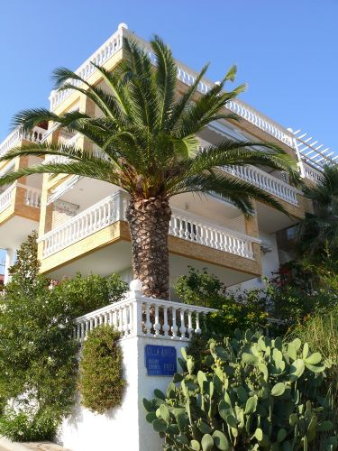 Jedes Apartment mit Balkon oder Terrasse