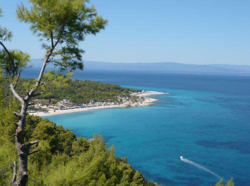 Typische Bucht in der Nähe von Sarti