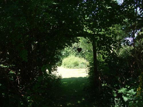 Durchgang zur Apfelwiese/kleinem Wald