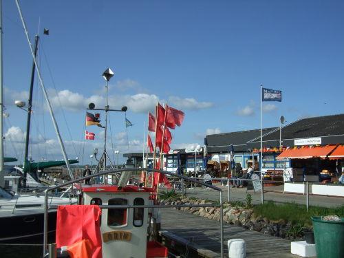 Segelhafen mit Nebenerwerbsfischerei