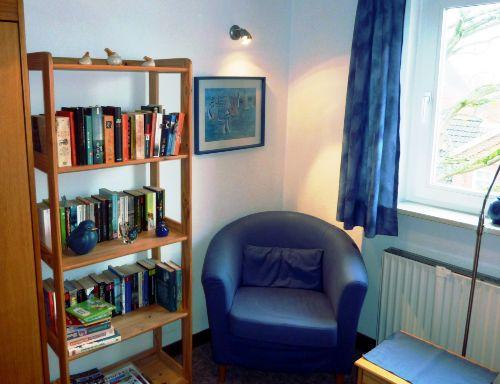 """""""Hausbibliothek"""" zum Schmökern im Urlaub"""