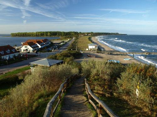 Salzhaff und Ostsee