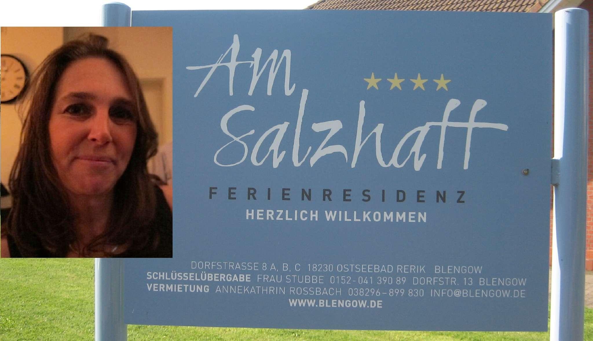 Ihre Vermieterin Frau Annekathrin Roßbach stellt sich vor
