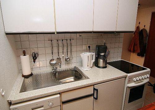 Küche ist mit Spülmaschine ausgestattet!