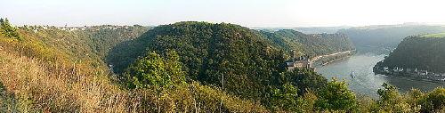 Blick von Patersberg in das Rheintal