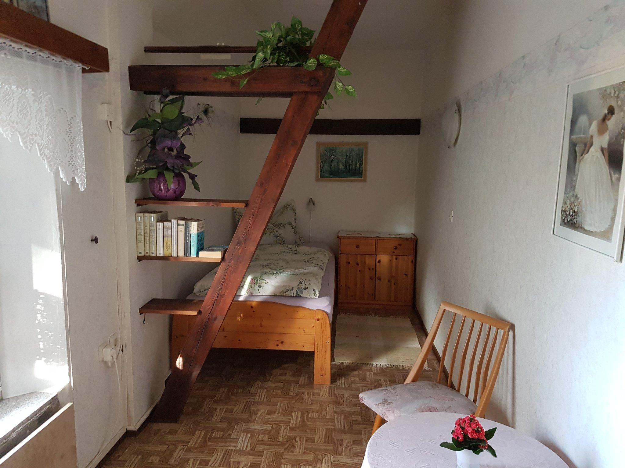 Schlafzimmer 2 Balkonblick