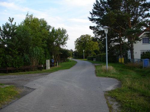 Ruhige Straße in Michaelsdorf