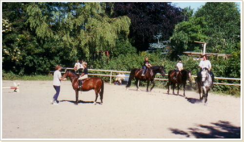 Kostenloses Ponyreiten